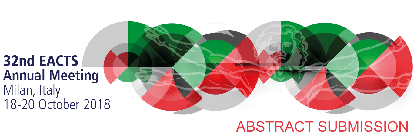 EACTS Annual Meeting Abstract Submission banner