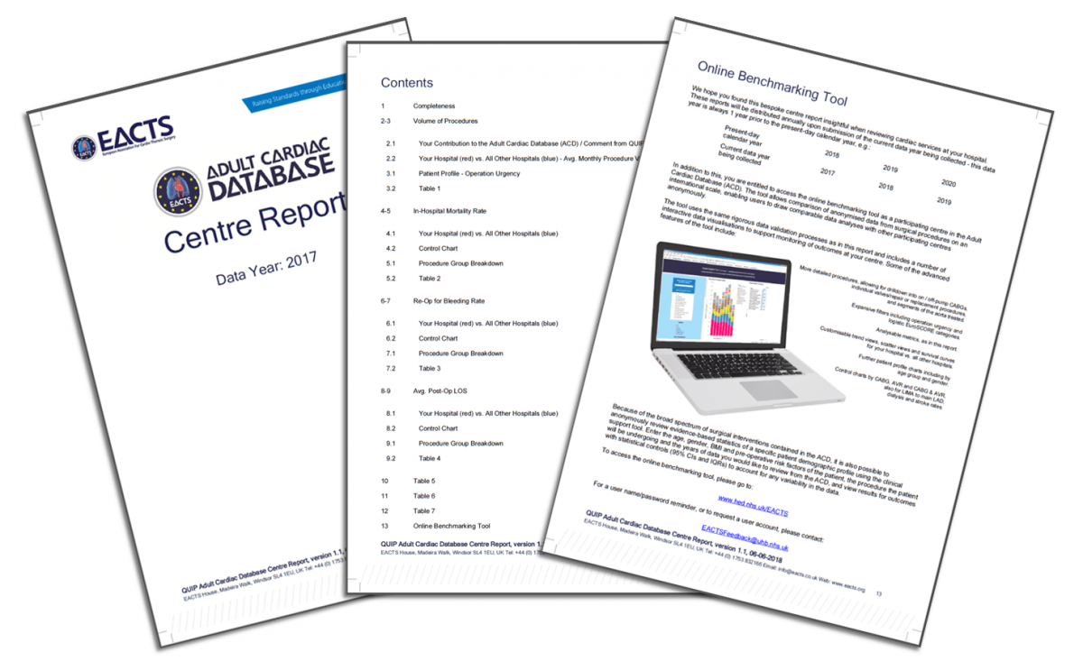 ACD: Access your bespoke Centre Report