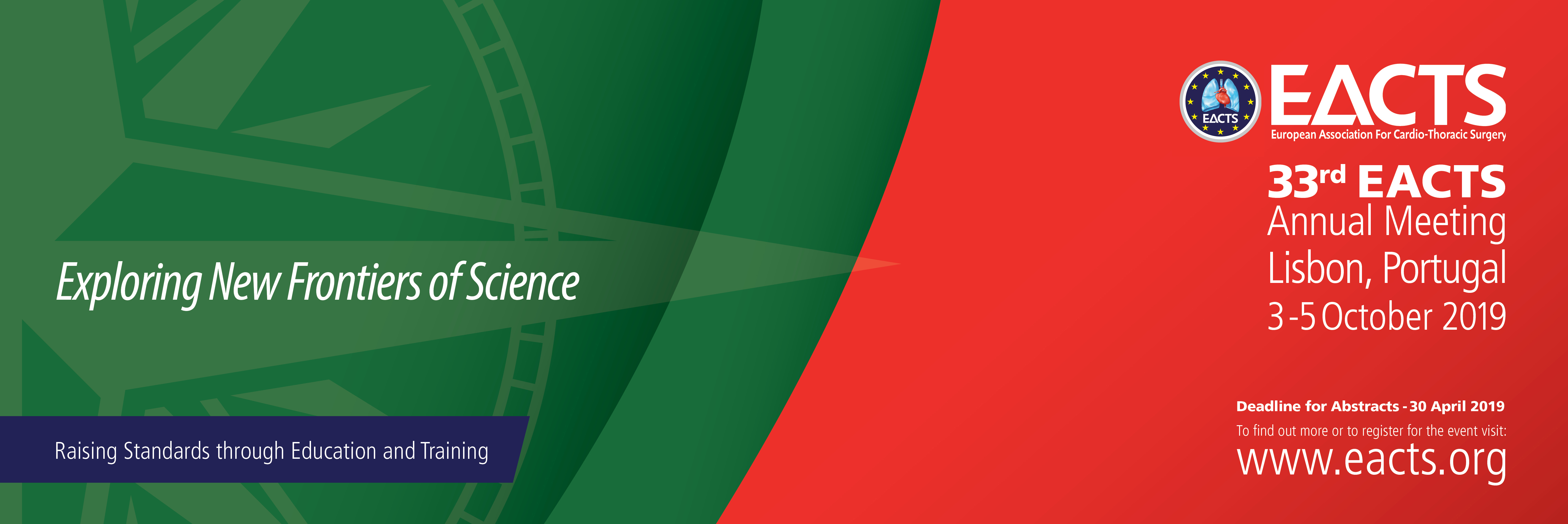 Registration | 33rd EACTS Annual Meeting | Lisbon, Portugal