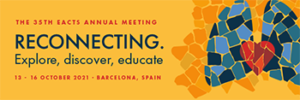 35th EACTS Annual Meeting banner