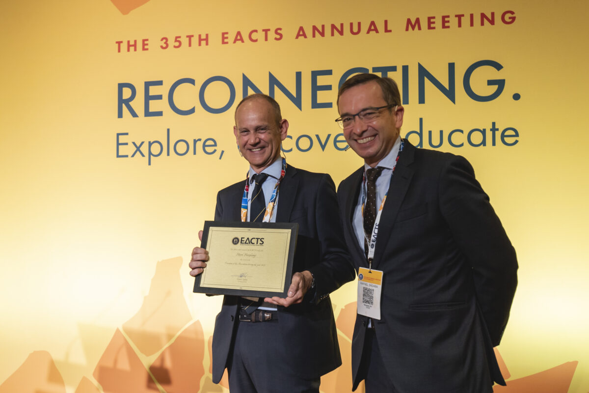 Friday's highlights at the 35th EACTS Annual Meeting