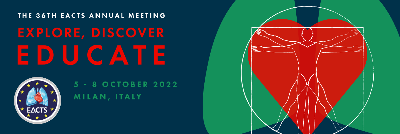 36th EACTS Annual Meeting Banner